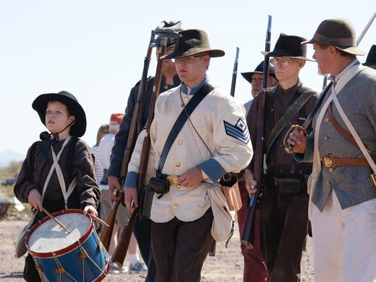 Three battles that took place in Arizona and New Mexico