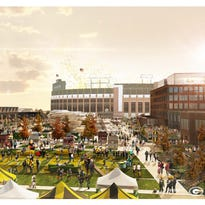 Titletown District conceptual drawings