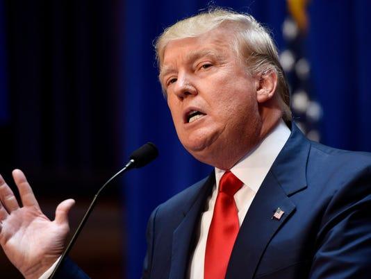 EPA USA ELECTIONS TRUMP PRESIDENTIAL ANNOUNCEMENT POL POLITICS ELECTIONS USA NY