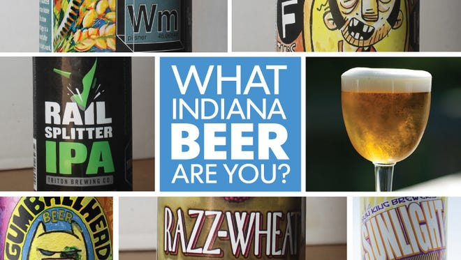 Take this fun quiz to find out which Indiana craft beer you are from some our picks.