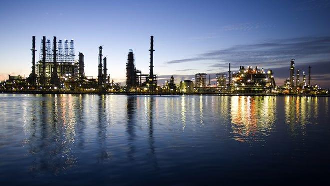 Chevron's Pascagoula refinery