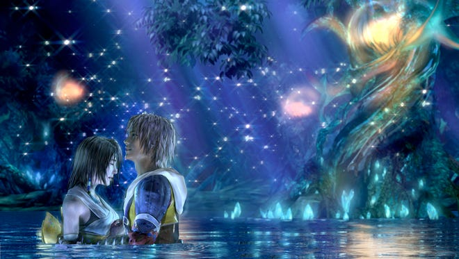 "Tidus and Yuna relive their story once again in ""Final Fantasy X 