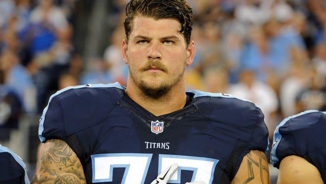 Titans tackle Taylor Lewan