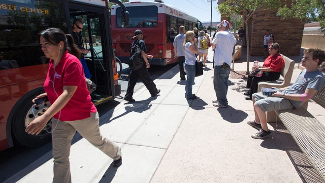 Public transportation, such as the SunTran bus system, continues to grow in Southern Utah.