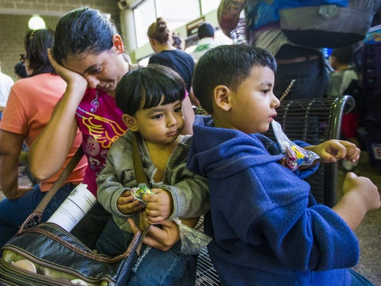 Immigrant children continue to surge into South Texas