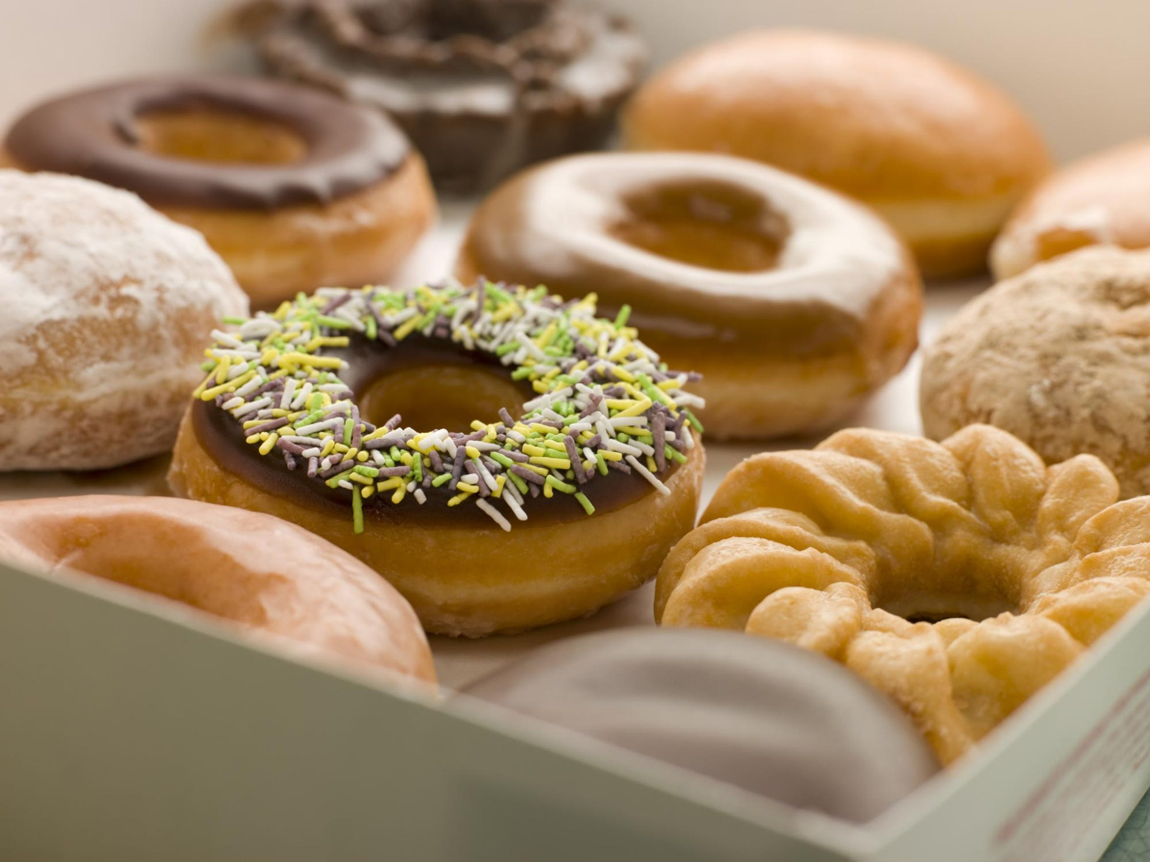 Donuts are being given away for free Friday.