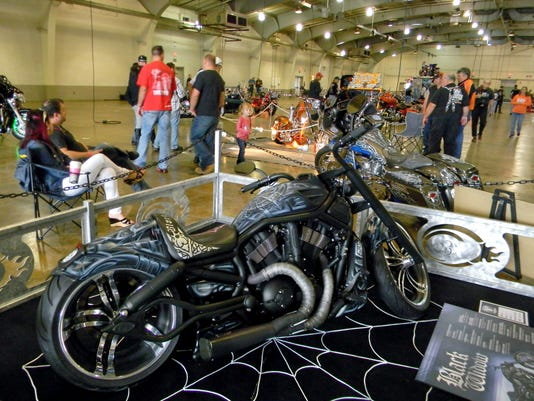 Check out bikes on display during White Rose Thunder Sept. 26 at the York Expo Center.