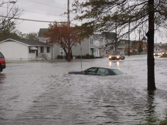 flooding crisfield