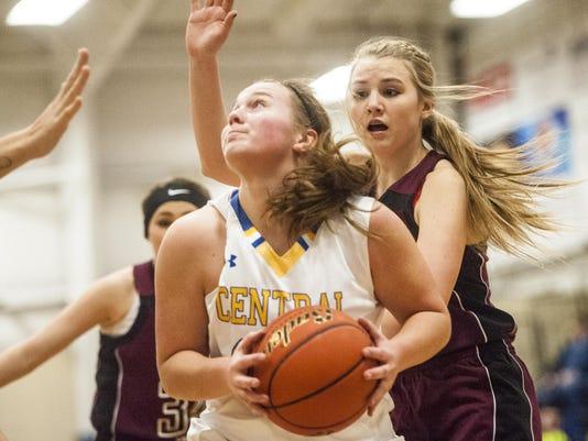 Great Falls Central Girls' Baketball