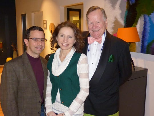Birmingham residents Vince and Kathleen Mastrangelo, president of Detroit Metro Youth Symphony; and The English Auctioneer, Charles Wickins. The DMYS' final concert of the season is at 2 p.m. Saturday, April 30, at the Ford Community and Performing Arts Center in Dearborn.