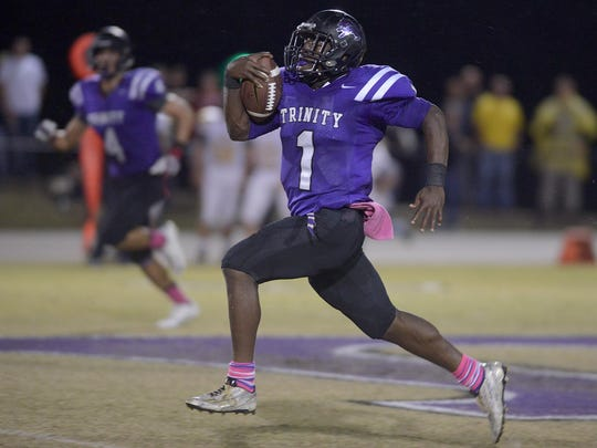 TCA's Andrew Goldsmith had 3,139 yards rushing, while