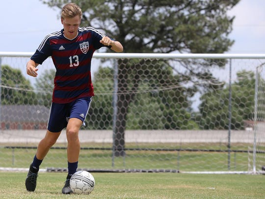 Madison's Adam Joyner is the All-West Tennessee Boys Soccer Midfielder of the Year.