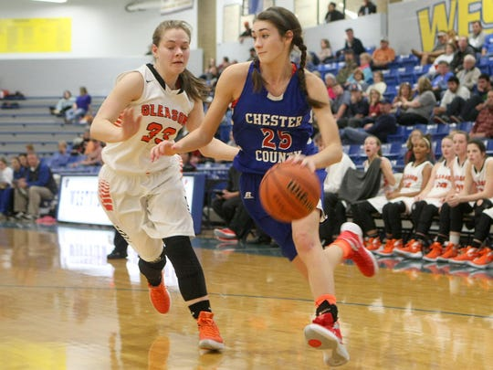 Chester County's Paige Pipkin has committed to play basketball at UT Martin.