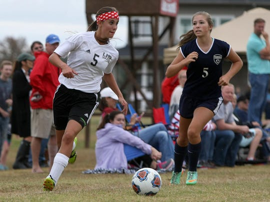 Lexington's Hannah Bassham is a two-sport athlete for the Lady Tigers in soccer and softball.