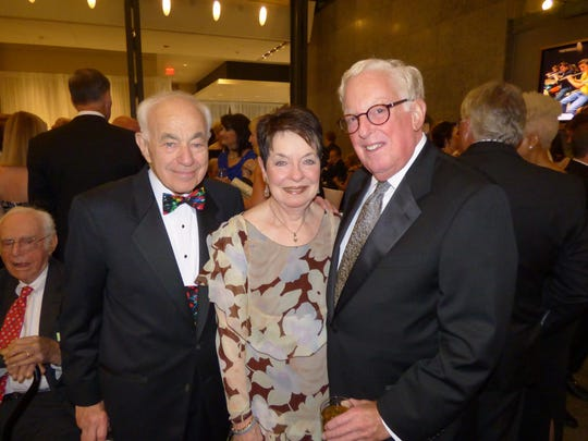Detroit residents Eugene and Elaine Driker and Franklin