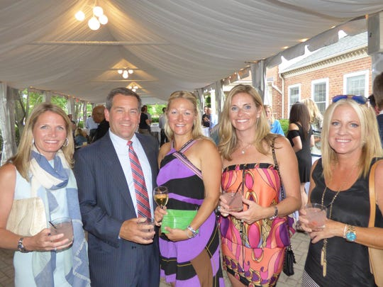 Bloomfield Hills residents Christina Metrose, Kevin and Allison Larson and Nicole Cornwell; and Michelle Bueche of Brmningham.