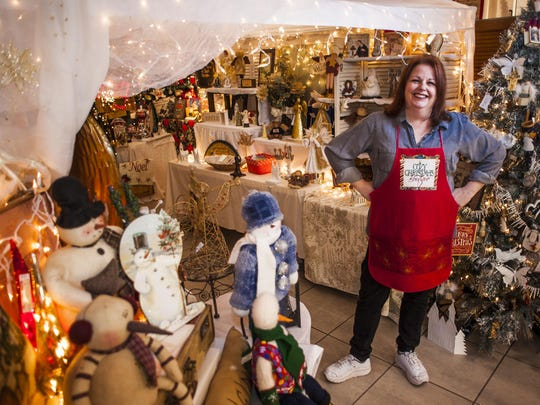 Diana Urry had a story in the mall last holiday season,