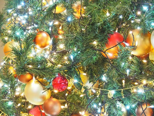 Christmas Tree, Bright And Dazzling