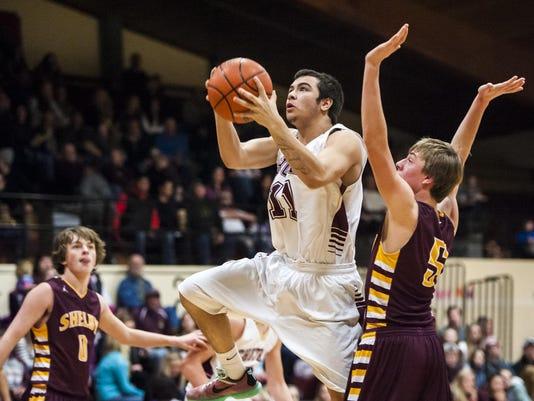 Choteau v Shelby Boys' Basketball