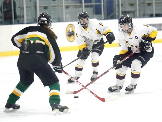 FON 021717 fdl warbirds vs beaver dam girls hockey 0134