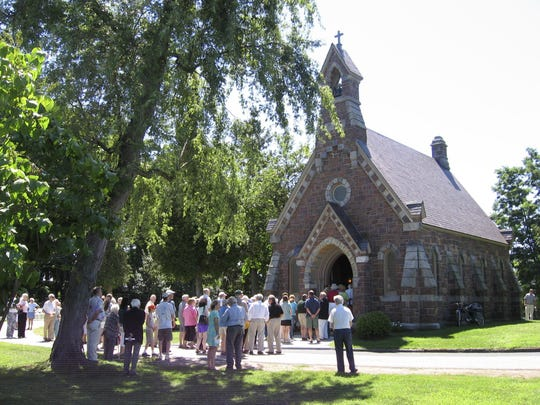 Burlington's historic Louisa Howard Chapel will be open to the public on Saturday. The chapel, built in 1882 in the Victorian Gothic Revival style, is listed on National Register of Historic Places.