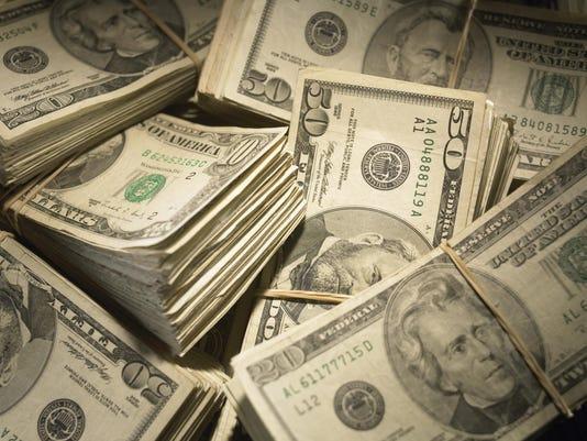 letter money