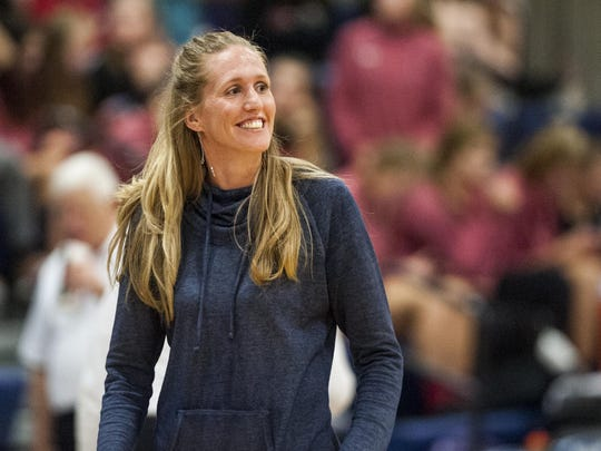 Katherine Sunwall, former Great Falls High player who still coaches in the Bison's girls' basketball program, was inducted into the University of Montana Western Hall of Fame in two sports last weekend.