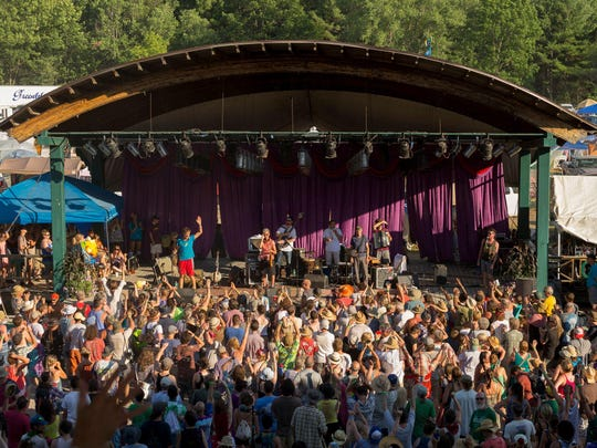 The GrassRoots Festival of Music and Dance returns this weekend with almost 80 acts from Thursday through Sunday.