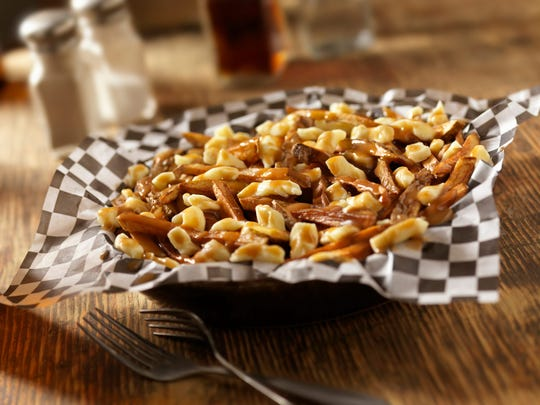 Classic French Canadian poutine