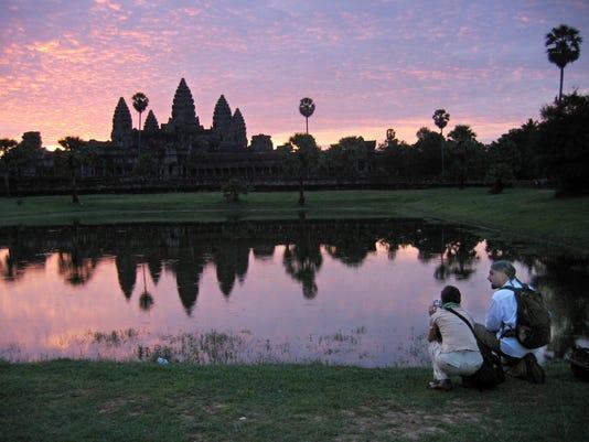 Cambodia Naked Tourists