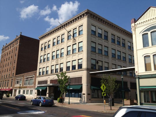 The Iszard's building on North Main Street is for
