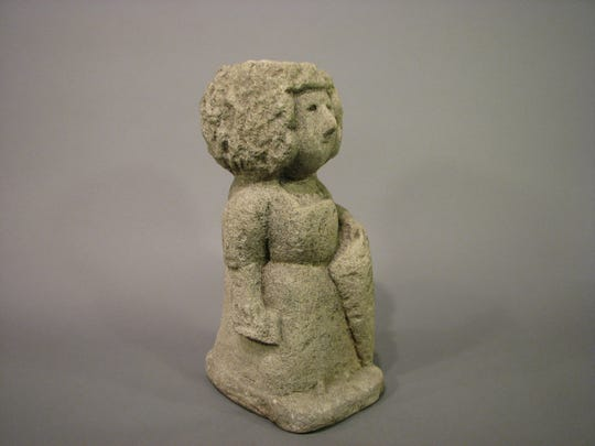 "William Edmondson's ""School Teacher"""