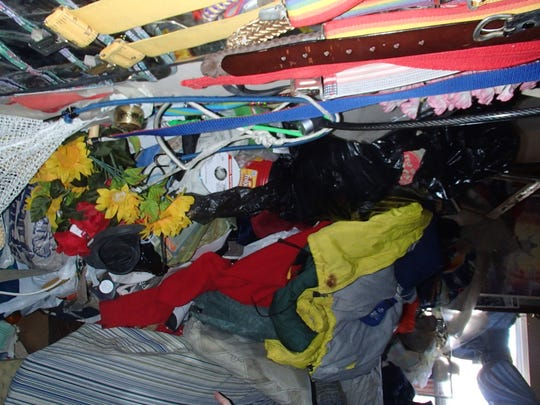 Gary Jackson has a hoarding disorder, a persistent difficulty discarding or parting with possessions because of a perceived need to save them.