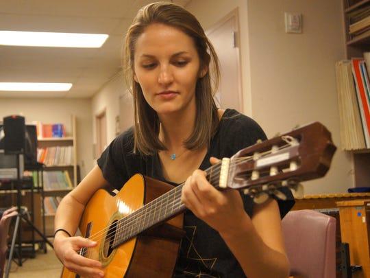 Anna Philippe, a senior in Arizona State University's