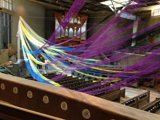sr 0404 pinnacle presbyterian art installation