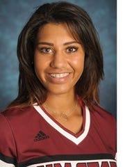 New Mexico State freshman Victoria Castro.