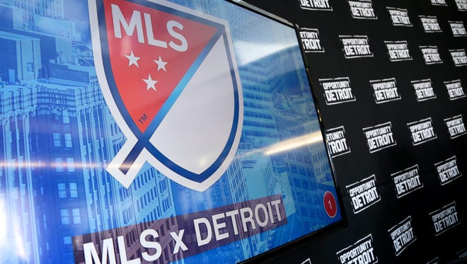 MLS press conference on Wednesday, April 27, 2016 in Detroit announcing the partnership to bring a Major League Soccer club to Downtown Detroit.