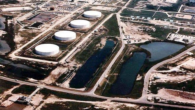 Brazoria County, Texas, is  a Strategic Petroleum Reserve site.