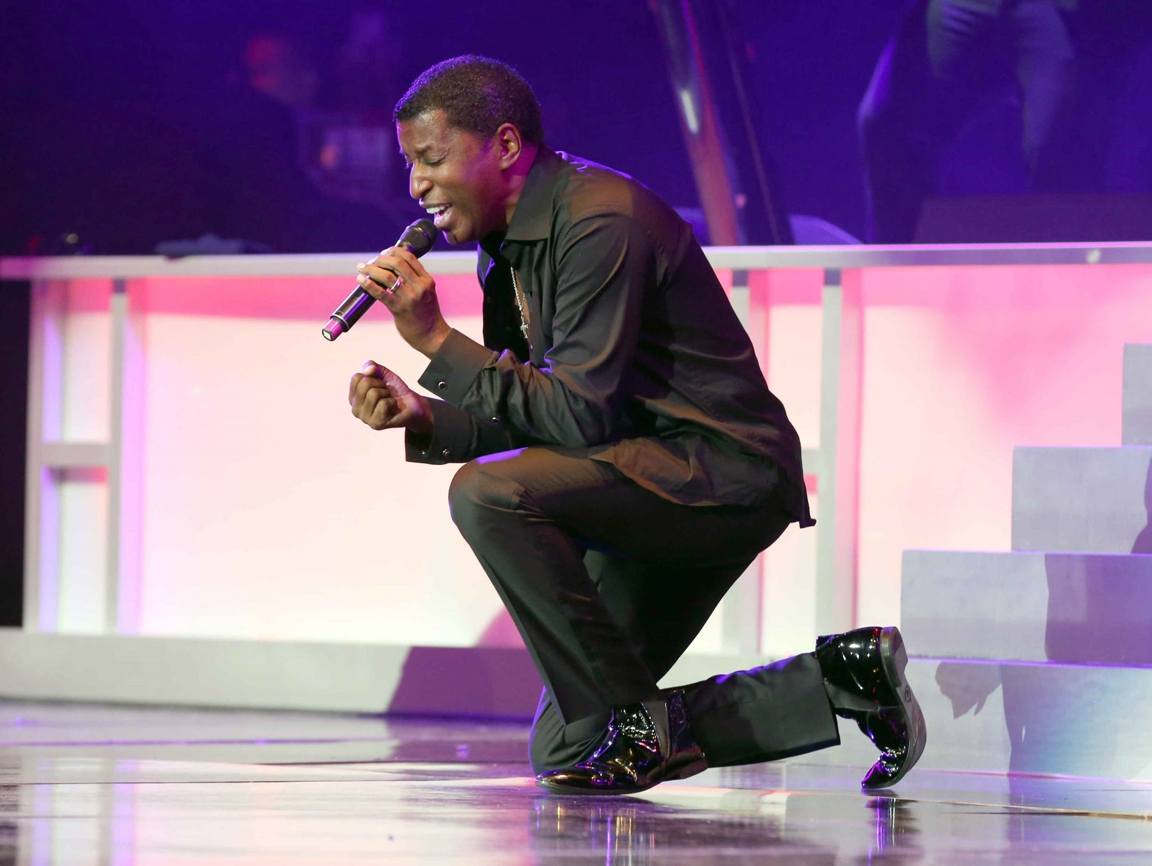 """Kenny """"Babyface"""" Edmonds has worked on more than 100"""