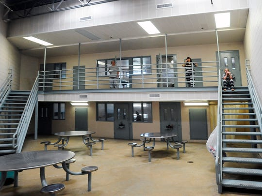 The Baxter County Sheriff's Office estimates that 15 to 20 percent of the county jail's population is comprised of people awaiting transfer to a state facility.