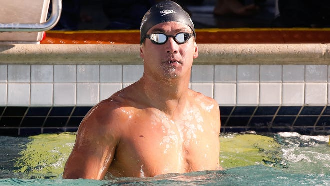 Bremerton's Nathan Adrian will compete this week in the US Swimming National Championships in Indianapolis, Indiana.