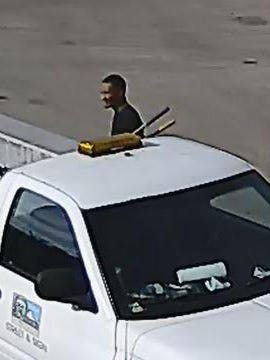 Detectives are seeking the identity of a man seen in surveillance photos stealing from the Murfreesboro Street department at 620 West Main.  Anyone with information should call the CID at 615-893-2717 or Crime Stoppers at 615-893-STOP(7867).
