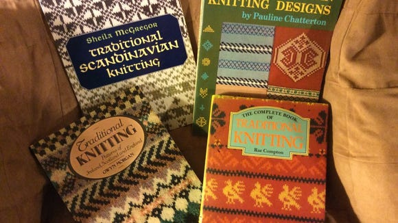 Here are some more excellent books on stranded knitting, including a book from McGregor about Scandinavian knits.