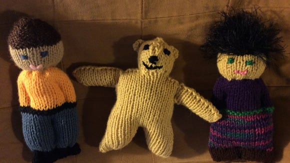 So far, I've made three toys for Grace Healthcare. My teddy bear is ok, but I expect the next one to be a lot better.