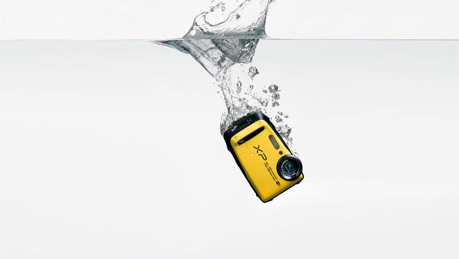 The Fuji FinePix XP90 is a fully waterproof 16.4-megapixel point-and-shoot camera.