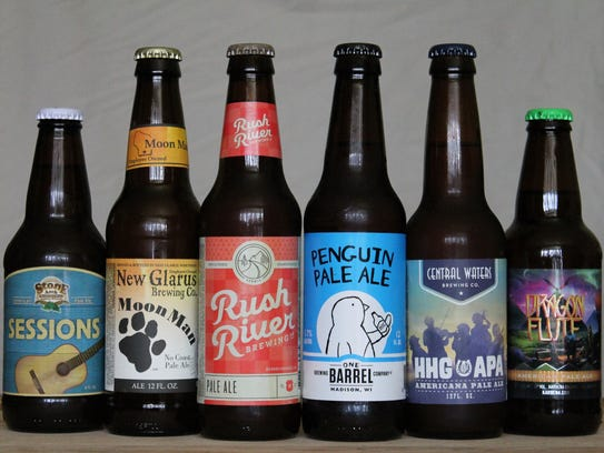 A WisBrewView Pick 6 of American pale ales from Wisconsin