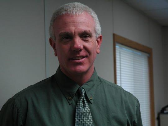 North Santiam School District Superintendent Andy Gardner