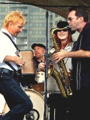Crowd pleasers Robin Lacy and DeZydeco are one of the featured acts playing the Lebanon Blue Festival on Saturday.