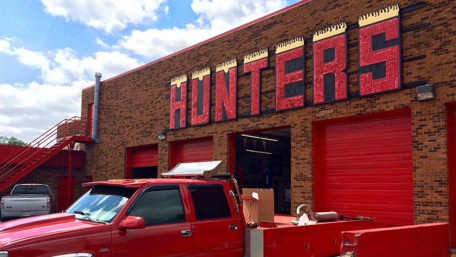 Fresh Hospitality plans to redevelop the Hunters Custom Automotive buildings into retail and restaurant spaces.