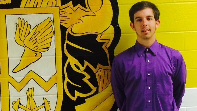 Paint Valley High School's Jonathan Henson says he found the kind of maturity in high school to not only boost his academic performance, but be able to cope with the loss of his father years after his mother also passed away.